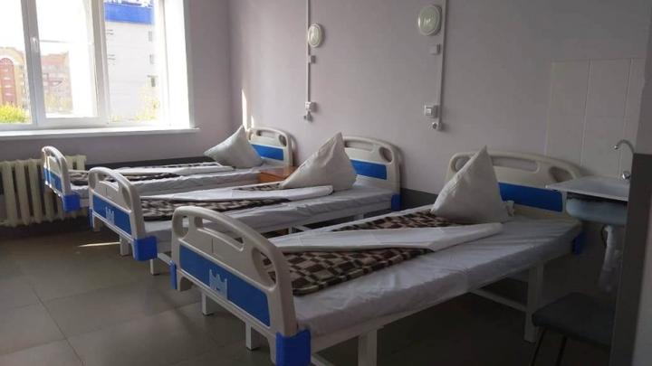 В медучреждениях Забайкалья ожидают дефицит мест для больных коронавирусом