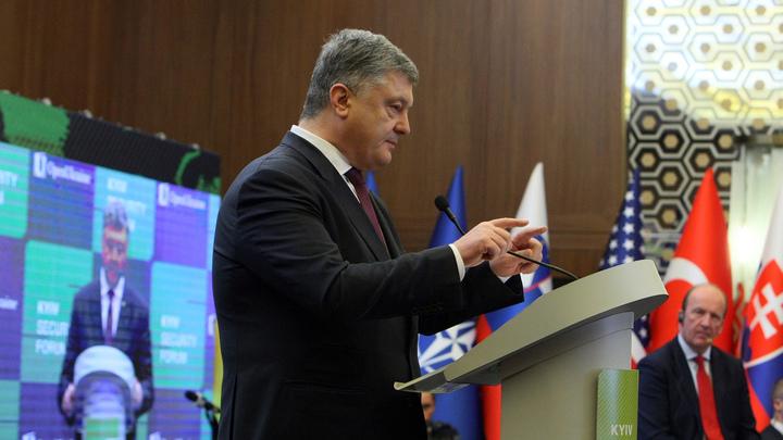 Порошенко пытается переиграть Авакова, придумав себе алиби для Гаагского трибунала