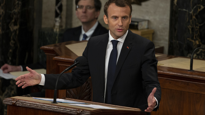 Россия est Европа: Президент Франции Макрон мечтает об историческом диалоге с Путиным