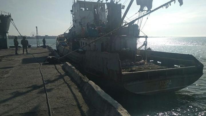 Капитана задержанного на Украине Норда вторые сутки разыскивают родные