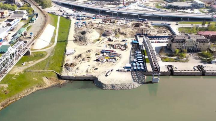 Строители четвёртого моста через Обь извинились за бессонные ночи новосибирцев