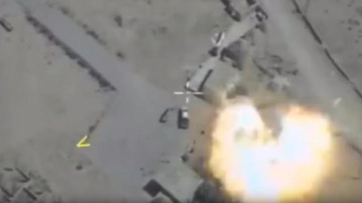 Не спрятаться даже в пустыне: ВКС России утюжит боевиков, напавших на конвой в Сирии