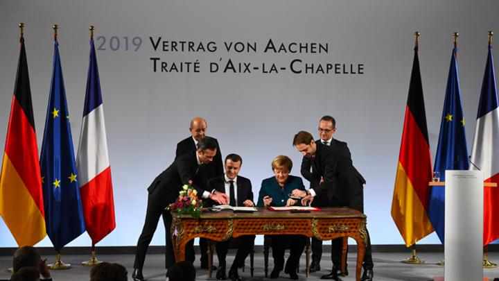 Меркель и Макрон воссоздают империю Карла Великого