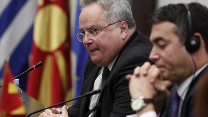 Греция и Македония стали врагами ради ЕС и НАТО