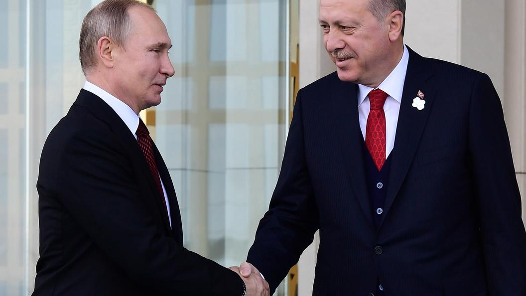 Эрдоган «увел» девушку у В.Путина ради хорошего кадра