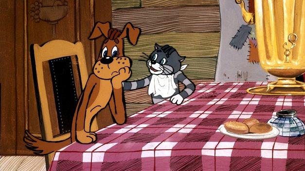 В новой серии про «Простоквашино» кот Матроскин сел на диету