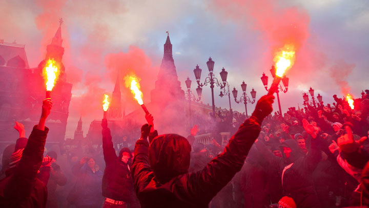 Русский бунт на Манежной площади: Как это было