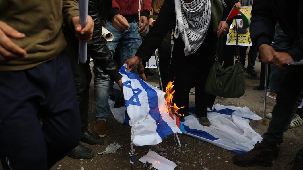 ВПалестине отказались признавать Израиль государством