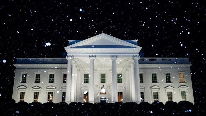 Белый дом поймали на фейке о первом снеге в Вашингтоне