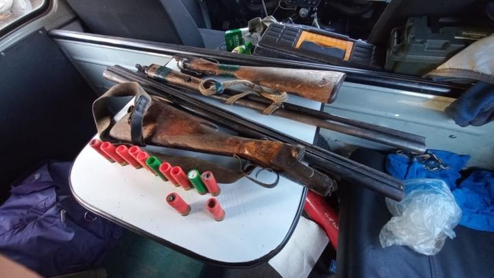 Двое забайкальцев попались в Ивано-Арахлейском парке с охотничьими ружьями