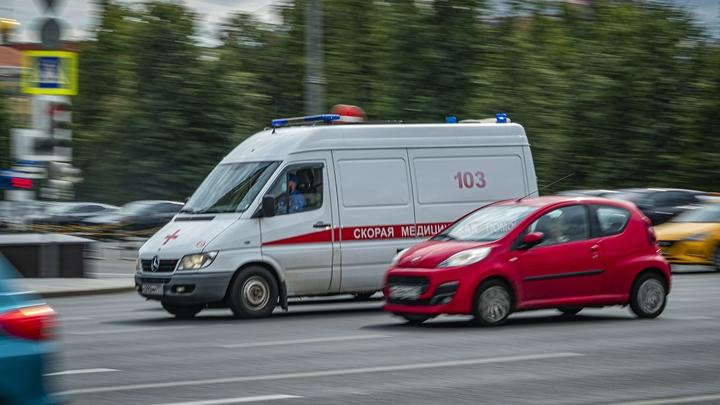 Ребенок пострадал в аварии с катафалком в Екатеринбурге