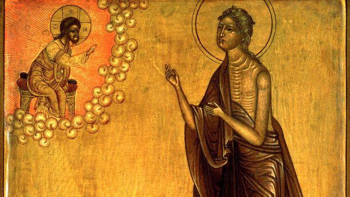 Преподобная Мария Египетская. Православный календарь на 25 марта