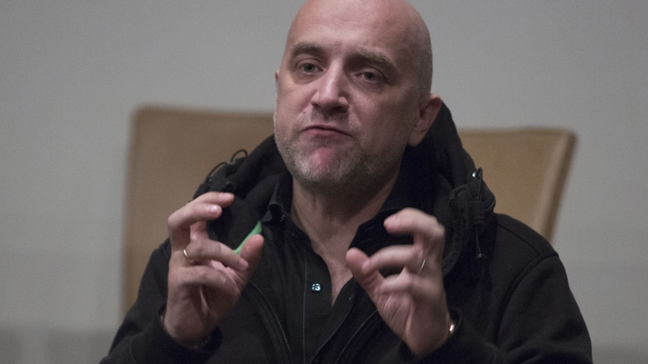 Прилепин Украине: Море слез вам, а не Горловка