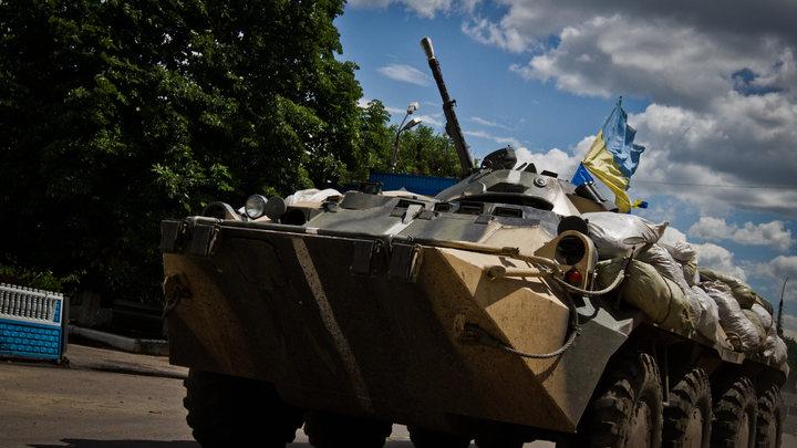 Украинские каратели в Донбассе в ходе ссоры расстреляли женщину