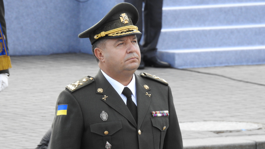 Министр обороны Украины: Я готов уйти в отставку