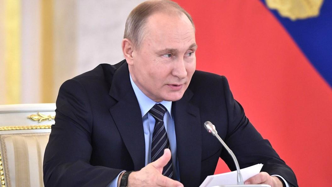 Путин назвал занимательный ему русский канал