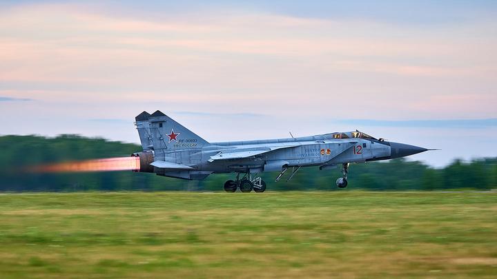 Сирию защитили русскими Кинжалами: Обнародовано уникальное видео с МиГ-31К