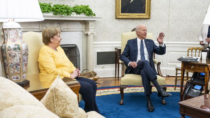 Переговоры Байдена и Меркель завершились обещаниями для Украины