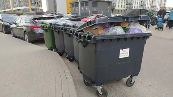 В Краснокаменске выявили 180 ничейных мусорных контейнеров