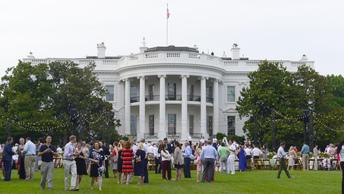 У Белого дома поймали мужчину с заряженным оружием