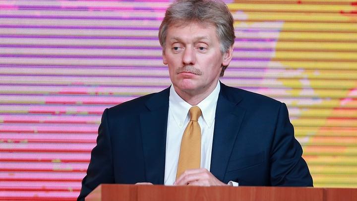 Песков не поддался на провокационный вопрос о влиянии Кремля на выборы в Донбассе