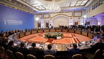 Встреча в Астане: Первые реальные межсирийские переговоры