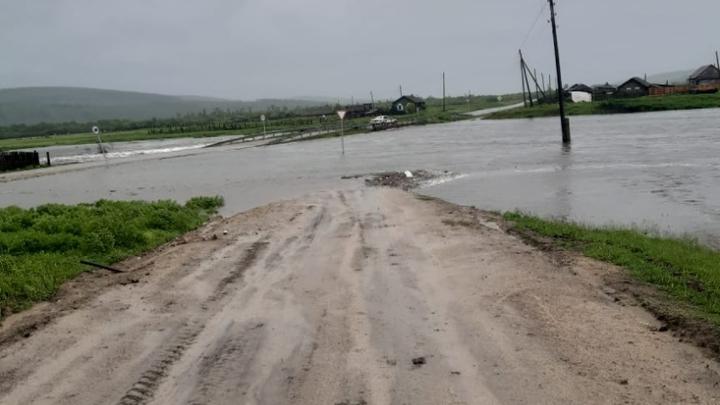 И разверзлись хляби: Гурулев доложил о ситуации с паводками в Забайкалье