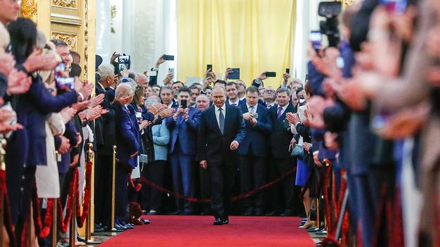 Необъятная власть: Реакция зарубежных СМИ на инаугурацию Путина