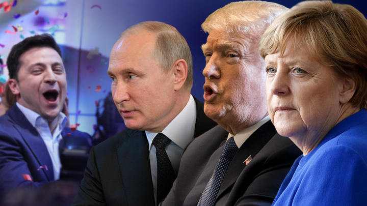 Трамп, Путин или Меркель... Кого выберет Зеленский?