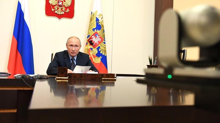 После вице-премьера досталось и министру: Путин провёл COVID-совещание