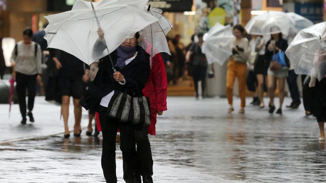 Еще один японский город под угрозой эвакуации из-за проливных дождей