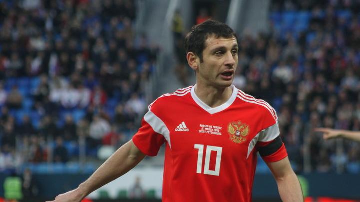 Русские футболисты выбрали красную форму на первый матч ЧМ-2018