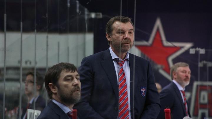 Вячеслав Фетисов: Возможно, отставка Знарка связана с тем, что он разочаровался в команде