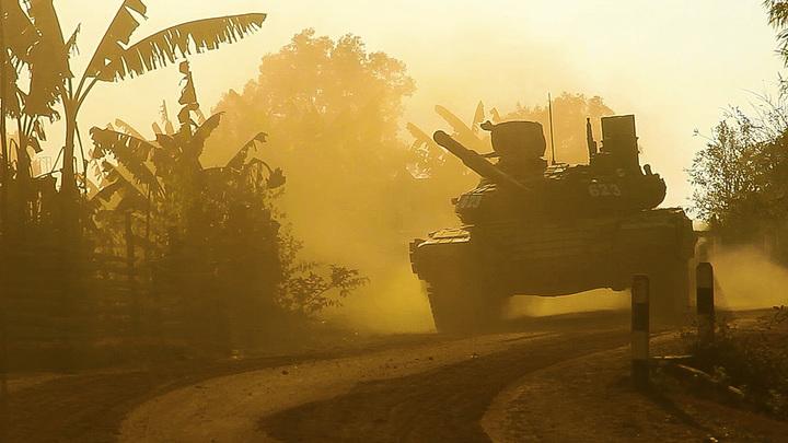 Современная американская техника проиграла старому русскому танку: В Сирии Т-62 выдержал удар ракеты