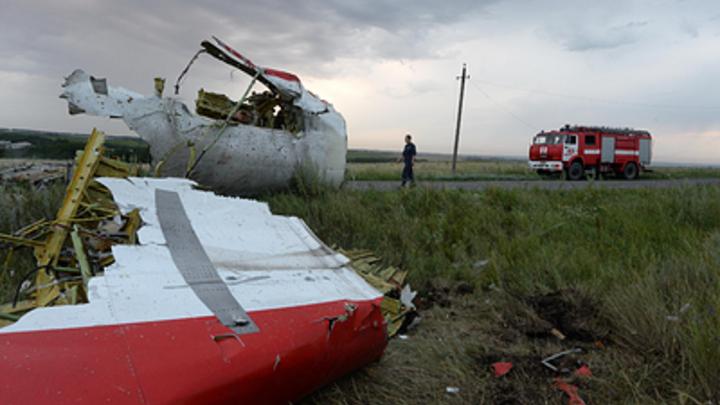 Германия настаивает на участии России в расследования крушения MH17