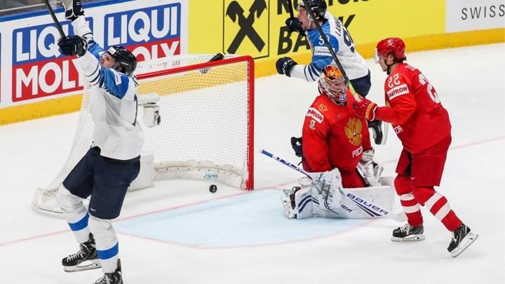 Порядок побил класс: Сборная России уступила финнам в полуфинале ЧМ-2019