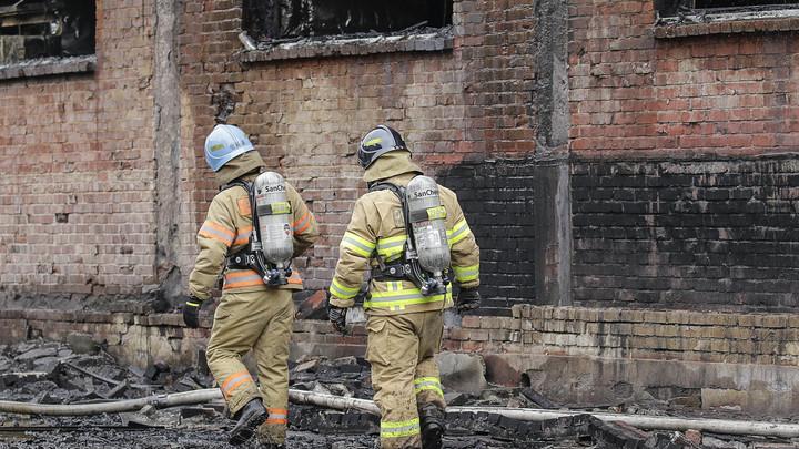 В Сети появились сообщения, что в горящем в Москве доме находятся квартиры Дапкунайте, Сафронова и Казарновской