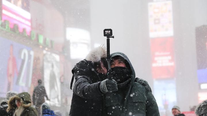 Российские дипломаты приготовились ответить за снег в США