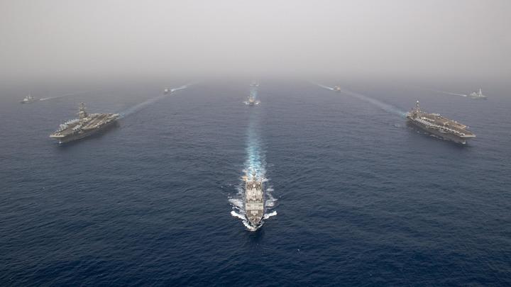 Испания отозвала фрегат Мендес Нуньес изсопровождения американского авианосца Авраам Линкольн вПерсидском заливе