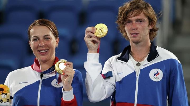 Теннисисты из Московской области взяли золото и серебро на Олимпийских играх