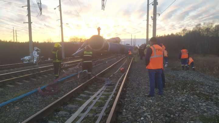 Железнодорожная катастрофа в Ковровском районе остановила движение по Горьковской железной дороге