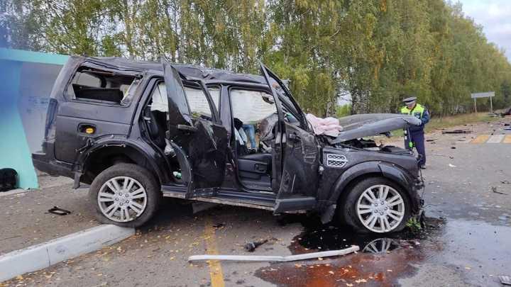 Появились подробности смертельного ДТП с Land Rover и Logan в Дальнеконстантиновском районе