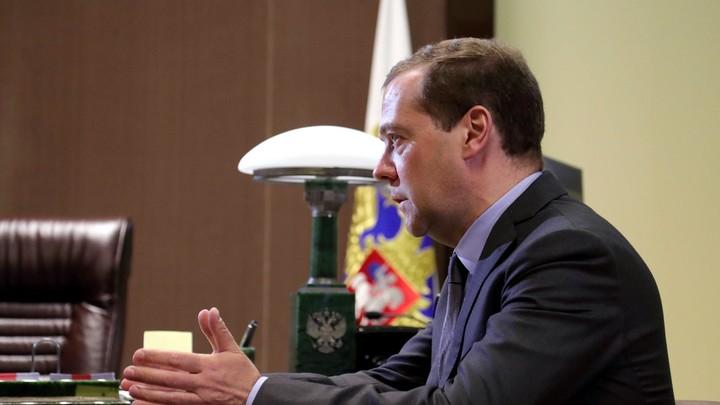 Медведев подтвердил, что победил Навального