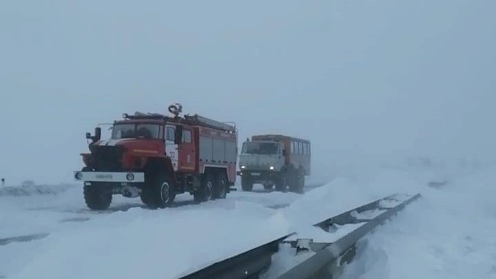 МЧС предупредило о надвигающейся метели в Свердловской области
