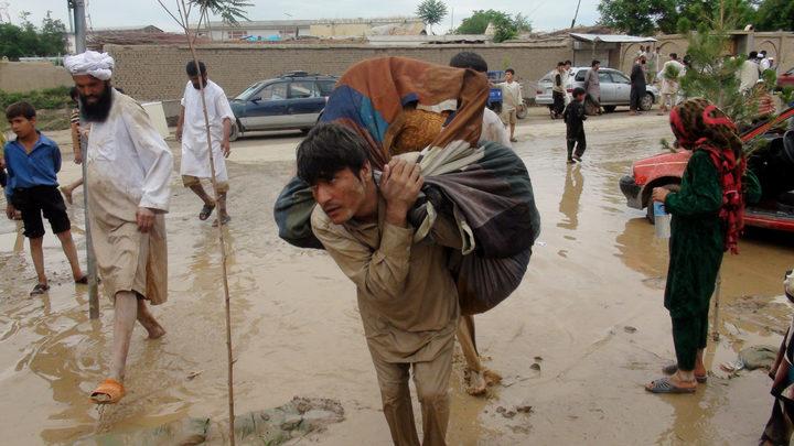Наводнение в Афганистане унесло жизни 17 человек