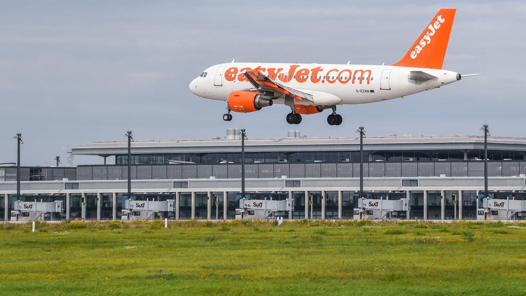 EasyJet желает создать самолет наэлектробатареях