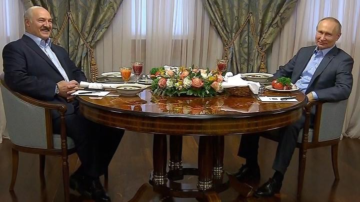 Попробуйте кашку на воде... вам понравится: Путин тонко намекнул Лукашенко?
