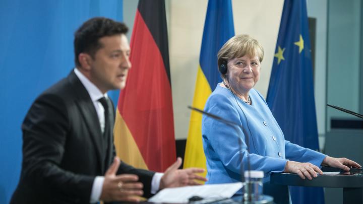 Зеленскому посоветовали готовиться: Меркель привезёт ультиматумы от Путина
