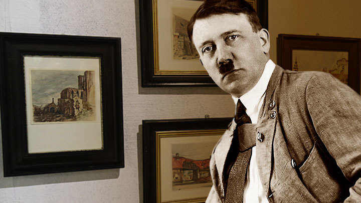 Гитлер провалился как художник в Нюрнберге