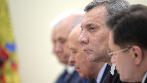 Вице-премьер по продвижению ОПК: Путин поздравил Борисова с новой должностью
